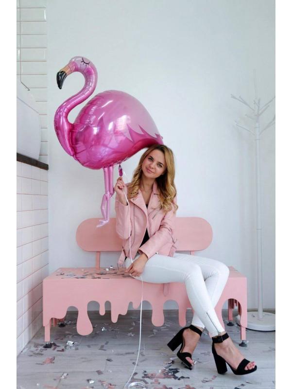 Розовый фламинго | Balloons by Kiwi Flower Shop