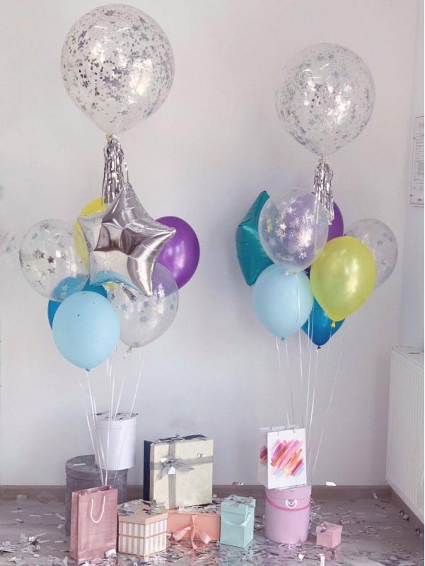 Набор шариков 'Цветное настроение' от Kiwi Flower Shop