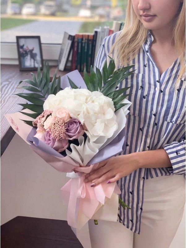 Ода ніжності | Комбіновані букети від Kiwi Flower Shop