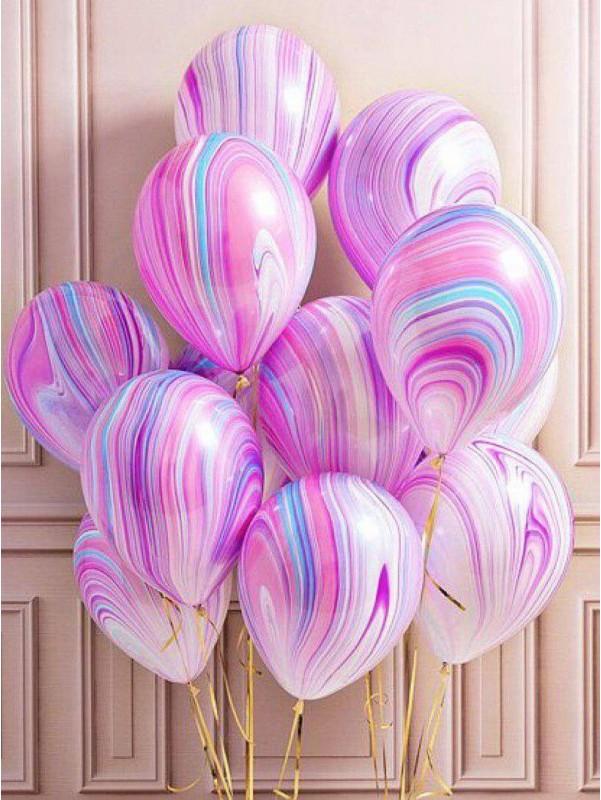 Воздушный шар 'Агат' от Kiwi Flower Shop