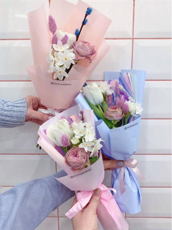 Bouquet compliment 'Flower compliment' by Kiwi Flower Shop