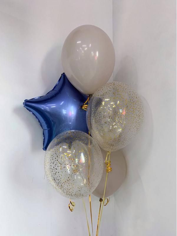 Набір свякових повітряних кульок | Повітряні кульки від Kiwi Flower Shop