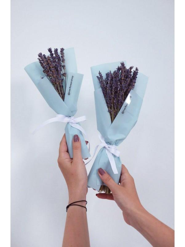 Букет из сухоцветов 'Лаванда XXS' от Kiwi Flower Shop