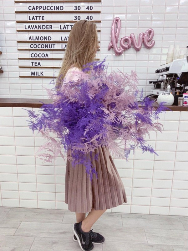 Author's bouquet 'Lilac and purple' by Kiwi Flower Shop