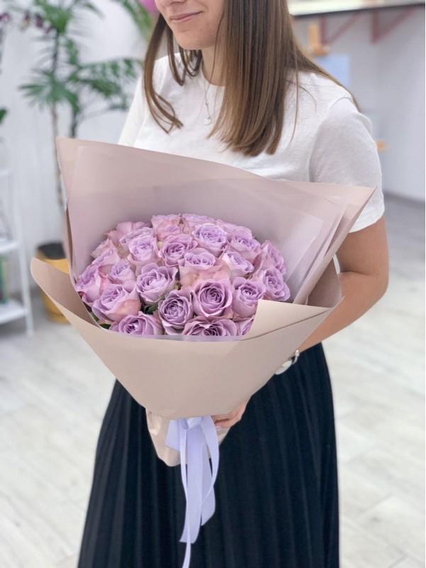 Моно букет із троянд 'Sweet memory' від Kiwi Flower Shop