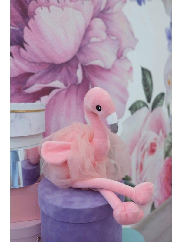 Іграшка рожевий фламінго | Іграшки від Kiwi Flower Shop