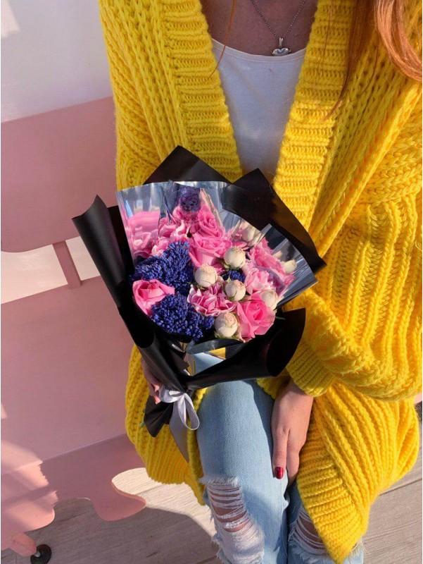 Букет 'Silver shining' от Kiwi Flower Shop