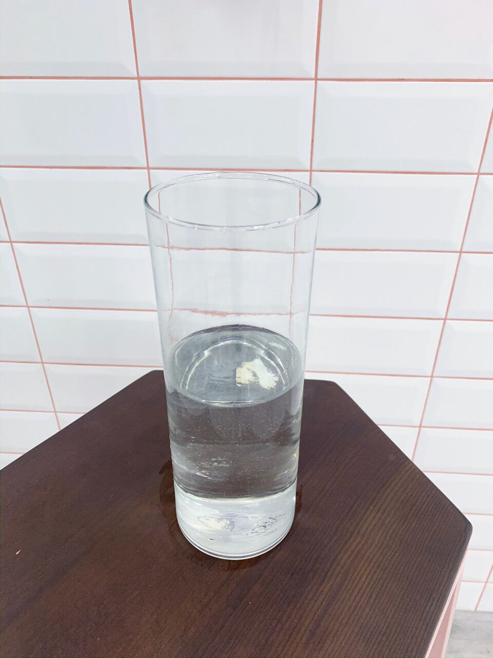 Vase with fresh water